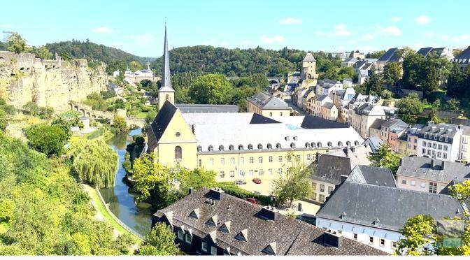 Walks: Ville Haute In Luxembourg City (4K)