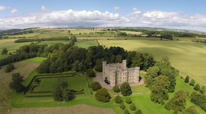 Scottish Country Houses: 18th C. 'Wedderburn Castle' In Berwickshire
