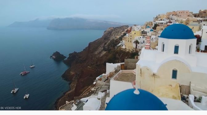 Aerial Views: Coastlines & Landscapes Of Greece (8K)