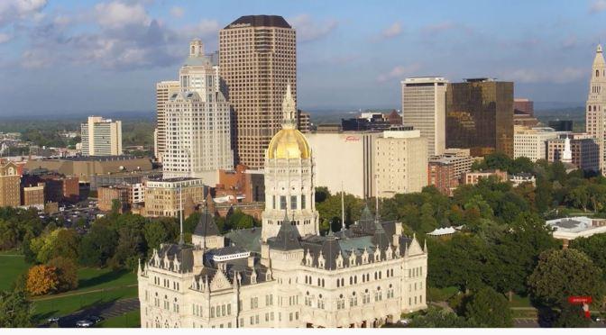 Aerial Views: Hartford, Capital Of Connecticut