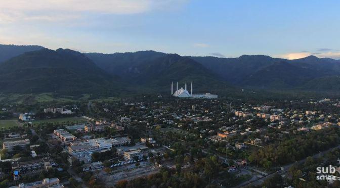 Aerial Views: Islamabad – Capital Of Pakistan (4K)