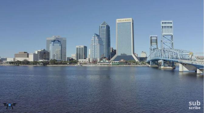 Aerial Views: Jacksonville – Northeast Florida (4K)
