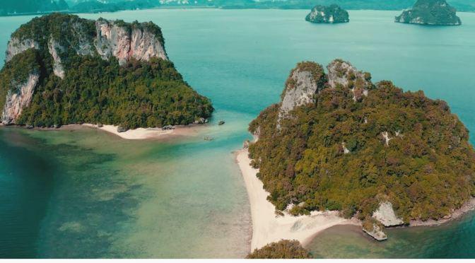 Island Views: Koh Phak Bia In Krabi, Thailand (4K)