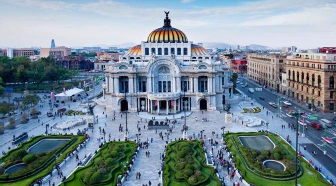 Aerial Views: Mexico City