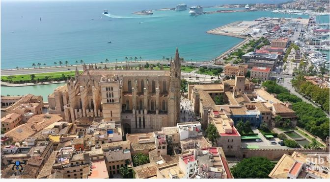 Island Views: Palma de Mallorca In Spain (4K)
