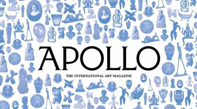 International Art: Apollo Magazine – November 2021