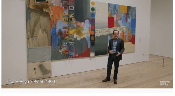 Curator Tour: 'Jasper Johns – Mind/Mirror' At The Whitney Museum