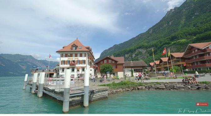 Boat Tours: Lake Brienz In Switzerland (8K Video)