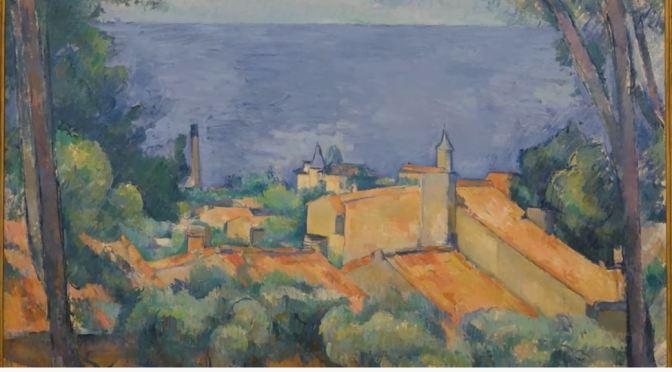 """Views: """"L'Estaque Aux Toits Rouges"""" by Paul Cézanne"""