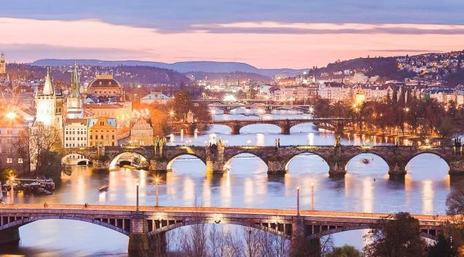 City Travel Views: Prague In The Czech Republic (4K)