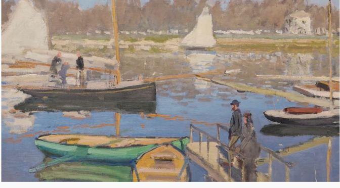"Art Views: Claude Monet's ""The Basin At Argenteuil"""