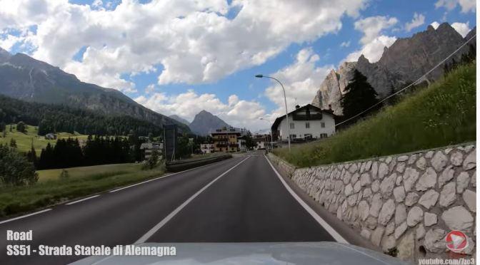 Driving Tours: Monte Cristallo, Dolomites, Italy