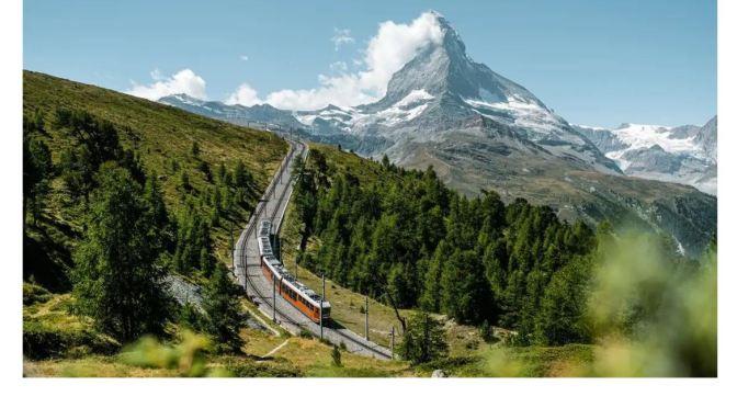 Swiss Trains: Gornergrat Bahn In Zermatt (8K Video)