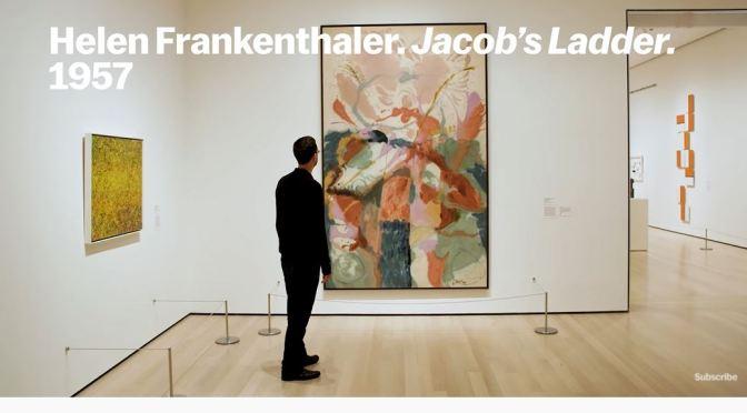 Art: 'Jacob's Ladder' By Abstract Expressionist Helen Frankenthaler