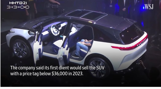 Views: Foxconn Reveals First EV Prototypes (WSJ)