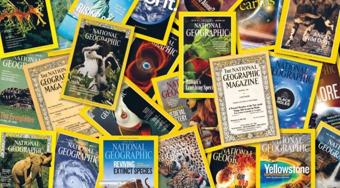 Magazine Cover: National Geographic – NOV 2021