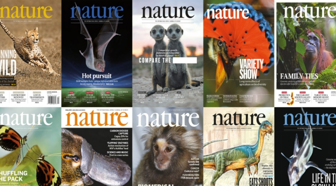 Front Covers: Nature Magazine – October 21
