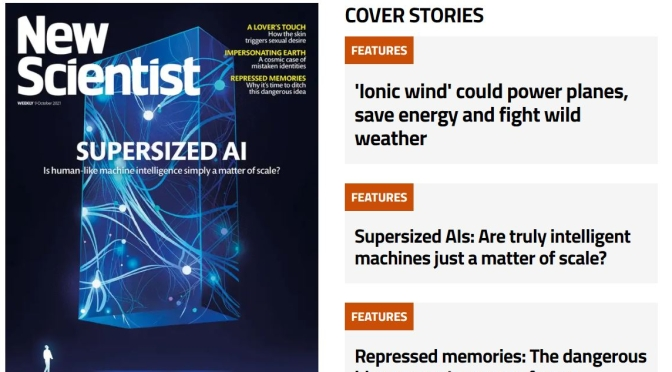 Front Cover Preview: New Scientist Magazine – OCT 9