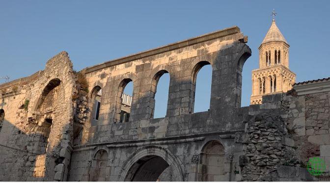 Views: Diocletian's Palace Ruins, Split, Croatia (4K)