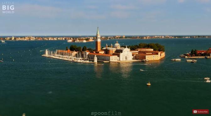 Tilt-Shift Timelapse Views: Venice, Italy (4K Video)