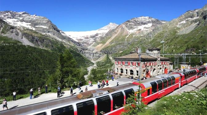 Train Rides: Bernina Express – Tirano To St. Moritz, Switzerland