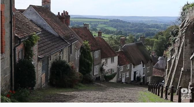 Village View: Shaftesbury In Southern England (4K)
