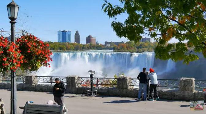 Views: Autumn Colors At Niagara Falls, New York