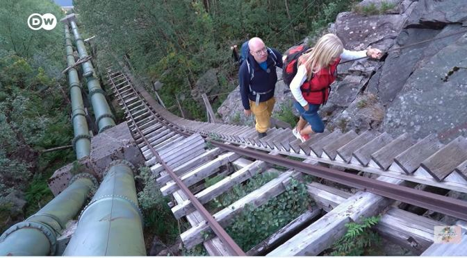 Hikes: Climbing Highest Wooden Staircase In The World In Flørli, Norway