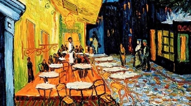 Van Gogh Views: 'Terrace of a Café at Night' (1888)