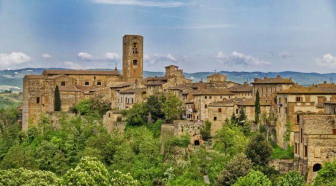Village Walks: Colle Val d'Elsa, Central Italy (4K)