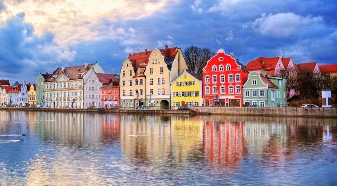 Walking Tour: Landshut In Bavaria, Germany (4K)