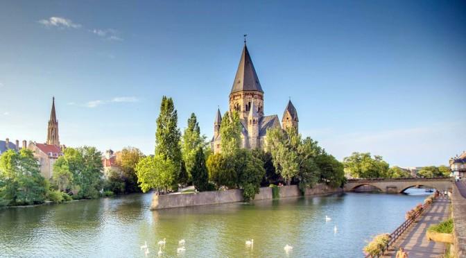 Walking Tour: Metz In Northeastern France (4K)