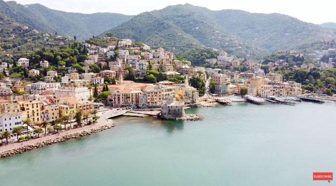 Walking Tours: Rapallo In Northwestern Italy (4K)
