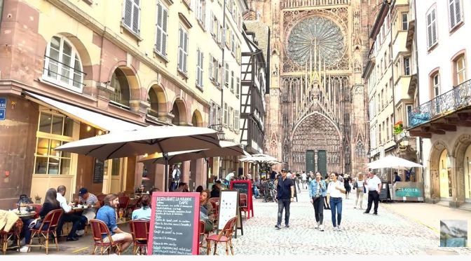 Walking Tour: Strasbourg In Northeast France (4K)