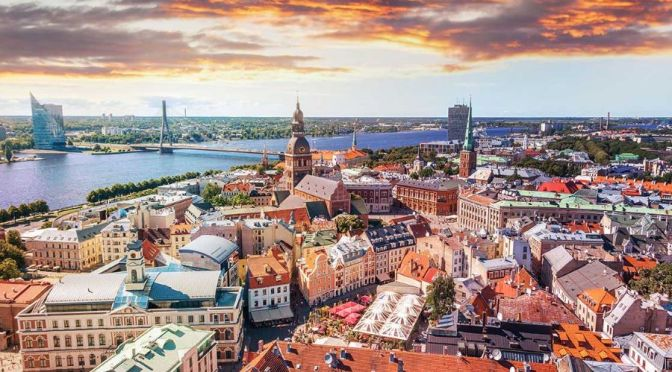 Walking Tours: Riga – Capital Of Latvia (4K)