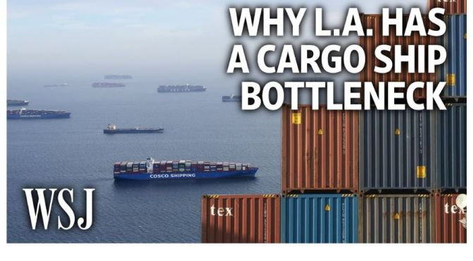Analysis: The Cargo Ship Congestion In Los Angeles
